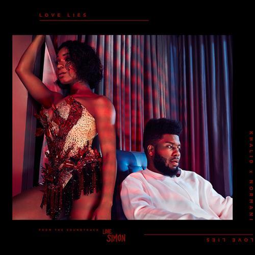 Khalid & Normani Love Lies cover art