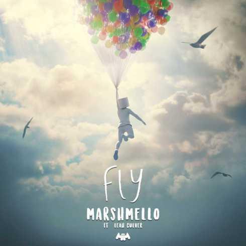 Marshmello Fly (feat. Leah Culver) cover art