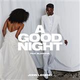 John Legend featuring BloodPop A Good Night (featuring BloodPop) cover kunst