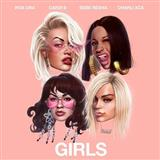 Rita Ora Girls (featuring Cardi B, Bebe Rexha and Charli XCX) cover art