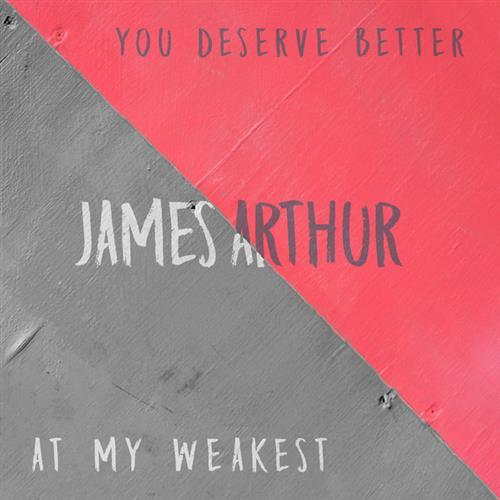 James Arthur You Deserve Better cover art