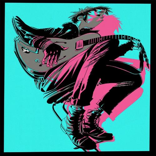 Gorillaz Humility (feat. George Benson) cover art