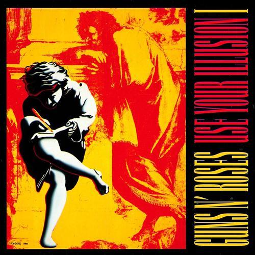 Guns N' Roses Live And Let Die cover art