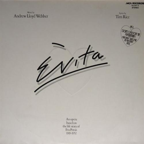 Julie Covington Don't Cry For Me Argentina (from Evita) cover art