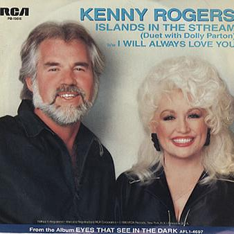 Kenny Rogers and Dolly Parton Islands In The Stream cover art