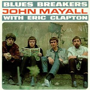 John Mayall's Bluesbreakers Steppin' Out cover art