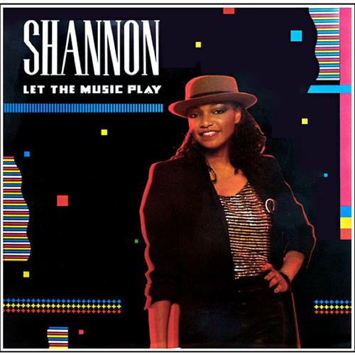 Shannon Let The Music Play cover art