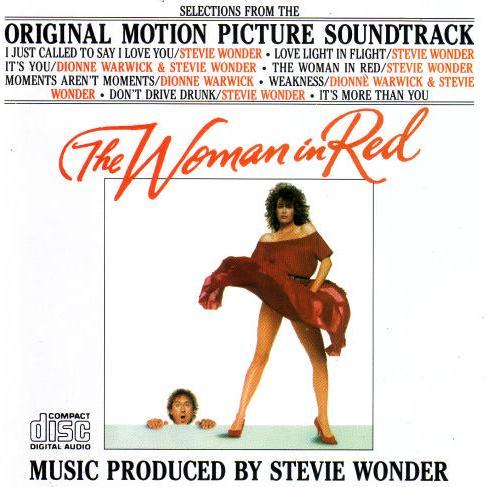 Stevie Wonder Woman In Red cover art