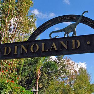 Tish Eastman Diggin' In Dinoland (from Disney's Animal Kindom Theme Park) cover art