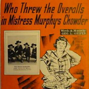 George L. Giefer Who Threw The Overalls In Mrs. Murphy's Chowder cover art