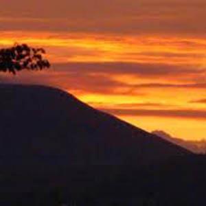 Mike Springer Autumn Sunset cover art