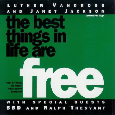 Luther Vandross & Janet Jackson The Best Things In Life Are Free cover art