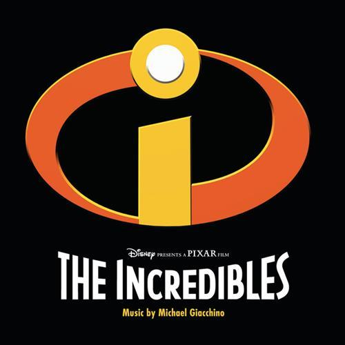 Michael Giacchino The Incredits cover art
