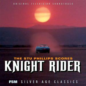 Stu Phillips Knight Rider Theme cover art