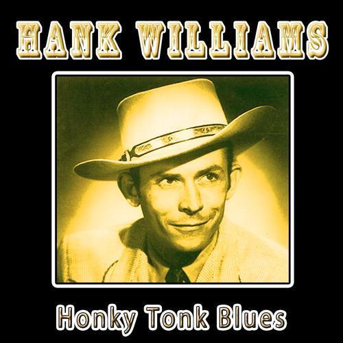 Hank Williams Honky Tonk Blues cover art