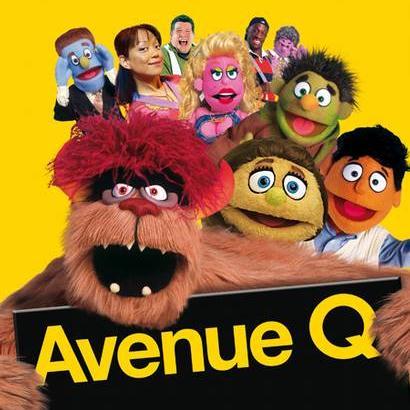 Avenue Q There's A Fine, Fine Line cover art