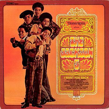 The Jackson 5 I Want You Back cover art