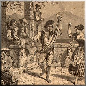 Italian Folksong La Vera Sorrentina (The Fair Maid Of Sorrento) cover art