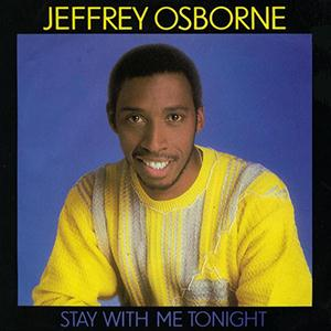 Jeffrey Osborne Stay With Me Tonight cover art