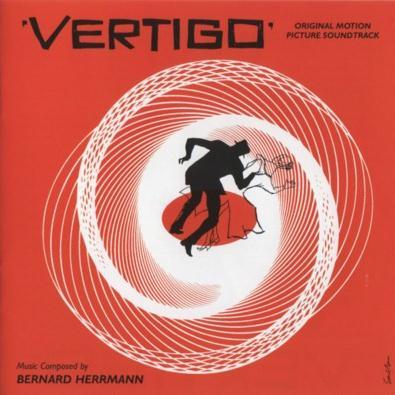 Bernard Hermann Vertigo Theme cover art