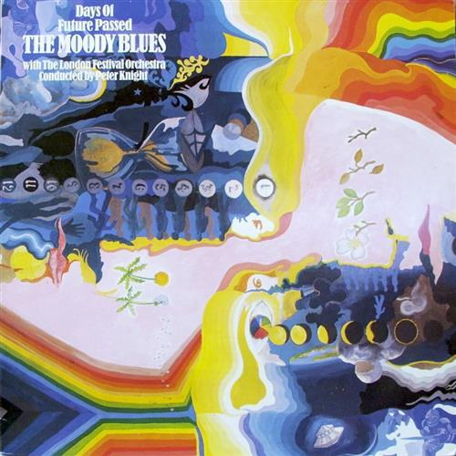 The Moody Blues Nights In White Satin cover art
