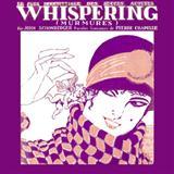 Partition autre Whispering de Richard Coburn - Real Book, Melodie et Accords, Inst. En Mib