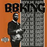 B.B. King Rock Me Baby cover kunst