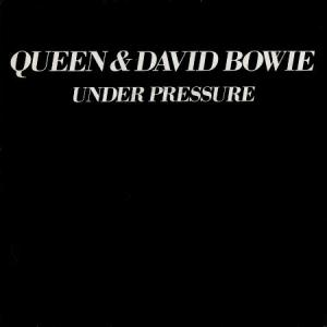 Queen and David Bowie Under Pressure cover art