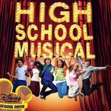 Vanessa Hudgens and Zac Efron Breaking Free (from High School Musical) cover art
