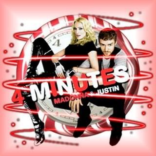 Madonna 4 Minutes (feat. Justin Timberlake) cover art
