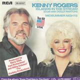 Kenny Rogers and Dolly Parton Islands In The Stream l'art de couverture