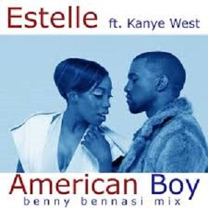 Estelle American Boy (feat. Kanye West) cover art