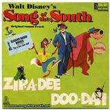 Ray Gilbert Zip-A-Dee-Doo-Dah arte de la cubierta