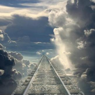 M.E. Abbey Life's Railway To Heaven cover art