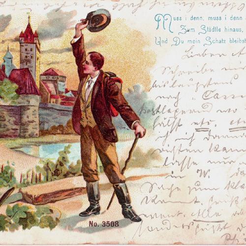 Swabian Folksong Muss I Denn Zum Stadtele Hinaus cover art