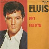 Elvis Presley Don't cover art