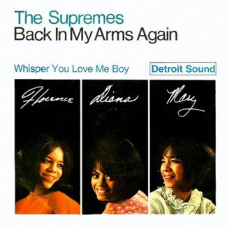 The Supremes Back In My Arms Again cover art