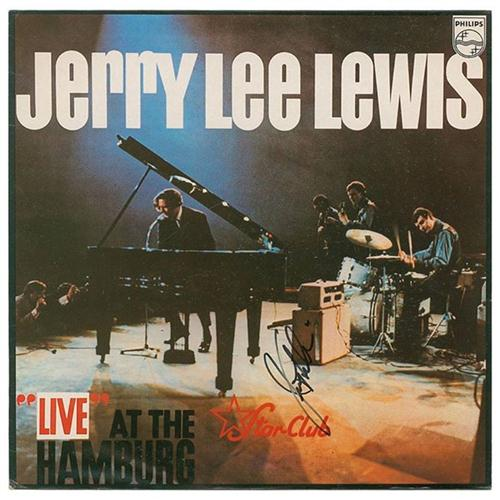 Jerry Lee Lewis Great Balls Of Fire cover art