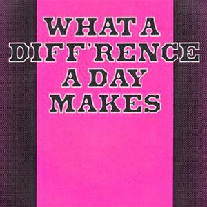 Stanley Adams What A Diff'rence A Day Made cover art