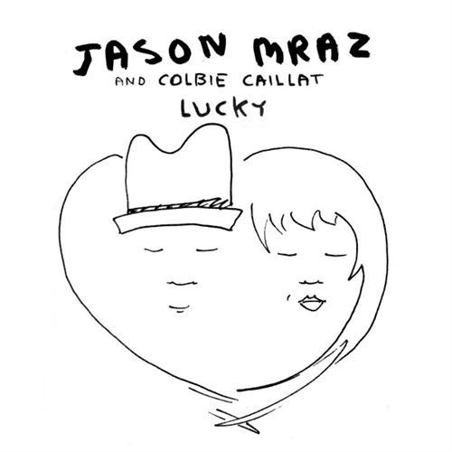 Jason Mraz & Colbie Caillat Lucky cover art