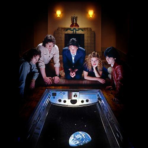 Paul McCartney & Wings Arrow Through Me cover art