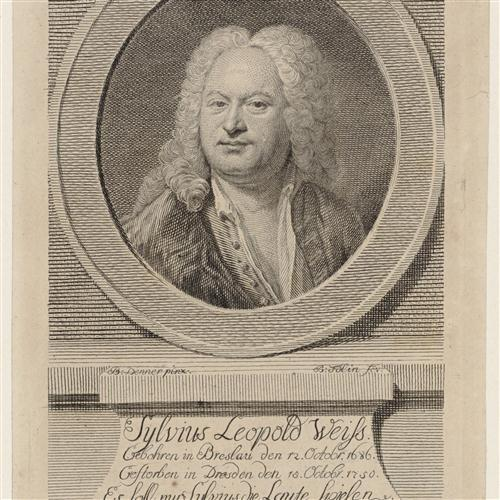 Sylvius Leopold Weiss Prelude cover art