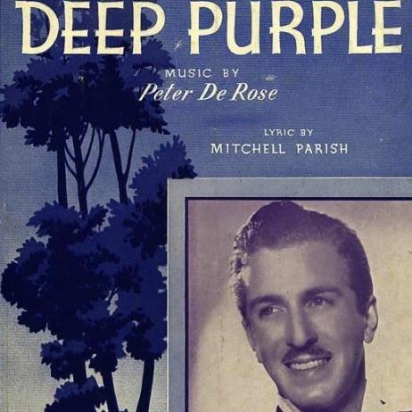 Mitchell Parish Deep Purple cover art