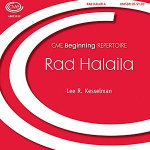 Lee R. Kesselman Rad Halaila cover art