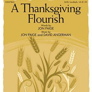 Jon Paige A Thanksgiving Flourish cover art