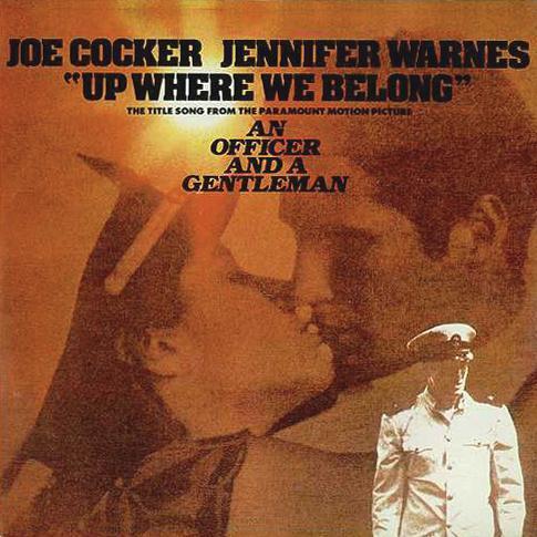 Joe Cocker and Jennifer Warnes Up Where We Belong (from An Officer And A Gentleman) cover art