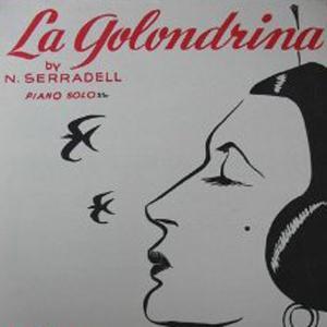 N. Serradell La Golondrina cover art