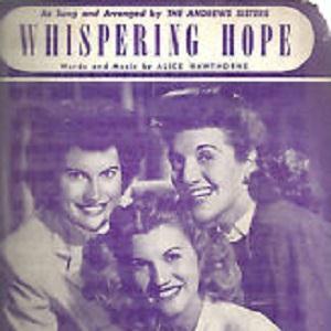 Alice Hawthorne Whispering Hope cover art