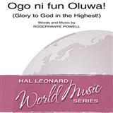 Ogo Ni Fun Oluwa! (Glory To God In The Highest!) Partituras Digitais