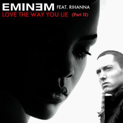 Rihanna Love The Way You Lie, Pt. 2 (feat. Eminem) cover art